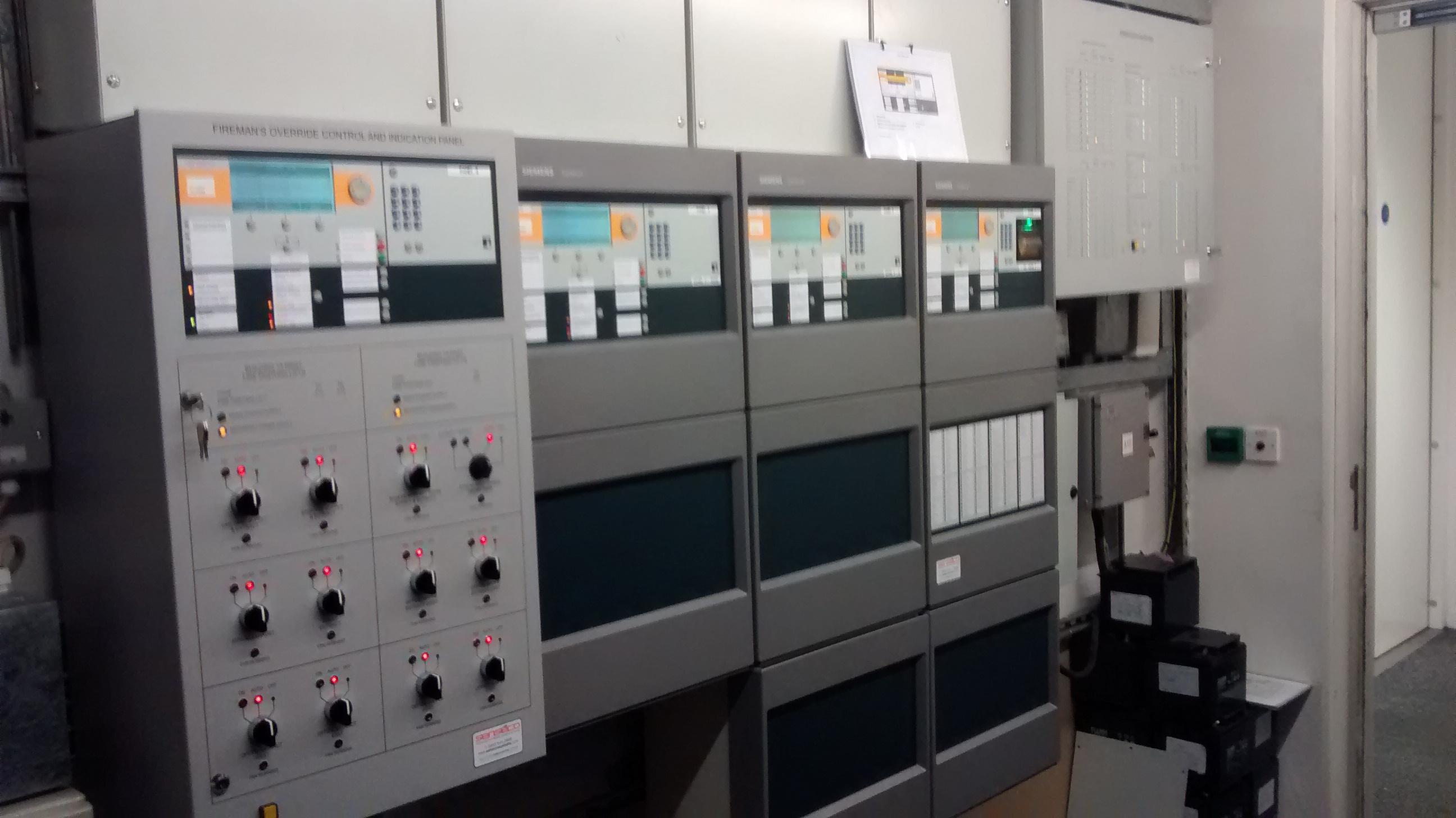 New Cerberus Pro System c/w Firemans Plant Panel, Sprinkler Panel
