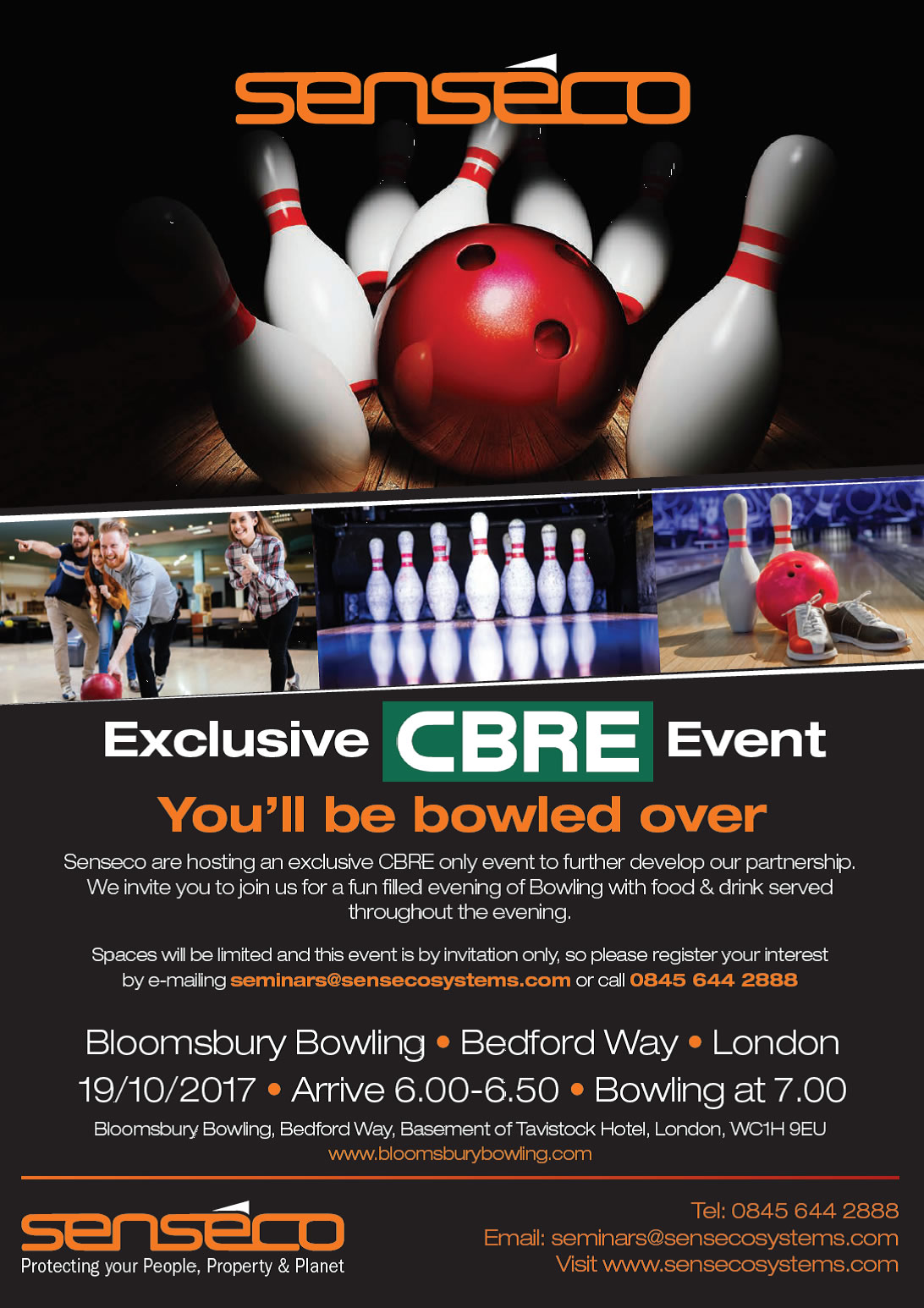 Exclusive CBRE Bowling Senseco Systems